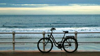 La bicicleta del Gijón Sound Festival