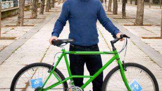Grego, nuestro hombre en Sevilla, donde la bici es pura maravilla
