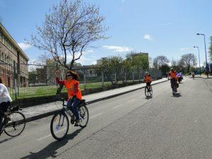 Asturias con bici en la primera bicicletada medioambiental de 30 dias en bici gijon
