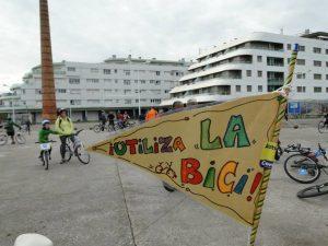 banderilla de asturias con bici bicicletada 30 dias en bici gijon