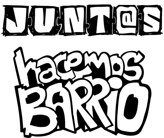 Logo AAVV Santiago grafiti