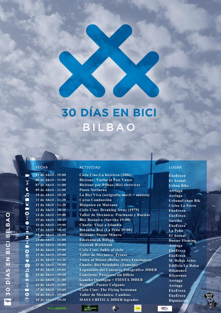 Bilbao 30DEB CalendarioShort