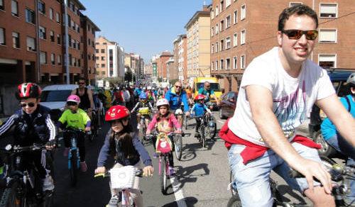 Foto de desarrollo Bicicletada 30 días en Bici Gijón