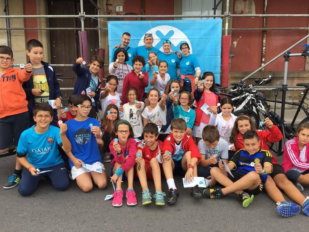 """30DEB organiza el juego """"Gijón Bus & Ride"""" para escolares en la Semana Eurpea de la Movilidad 2017"""