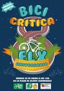 Cartel 8º Bicicrítica Elx