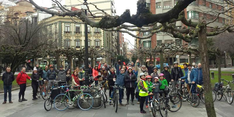 Foto de Gijón pedaleando - 30 Días en Bici
