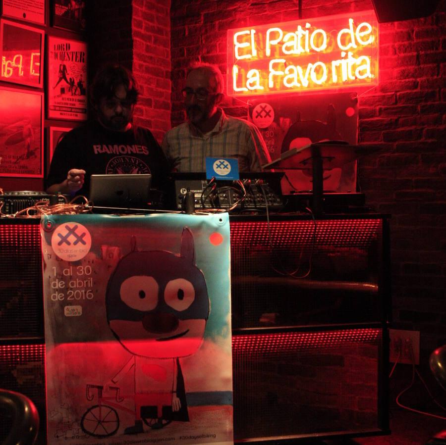 Foto de DJ Iba en Kick off Party 2016 - 30 Días en Bici Gijón