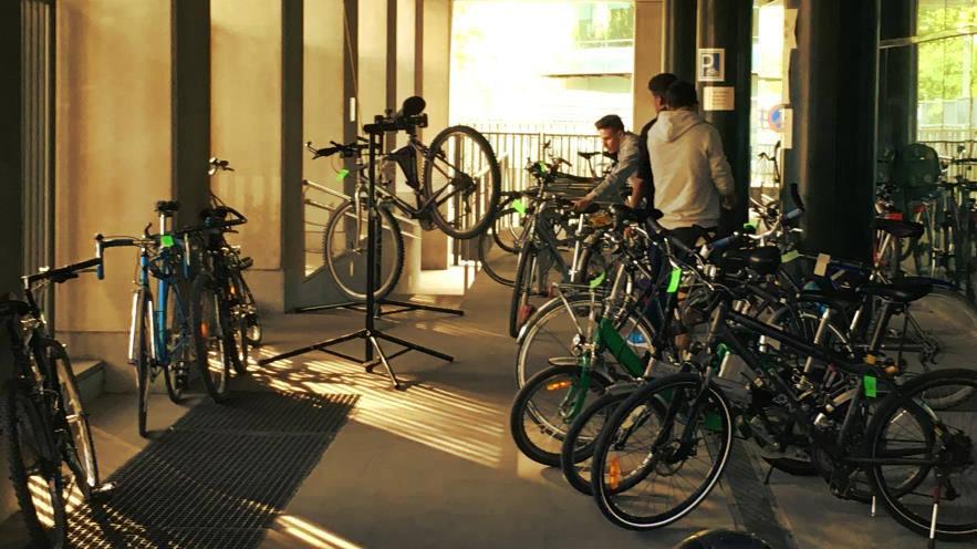 Foto de Parking de bicicletas Trabajadores TRAGSA - 30 Días en Bici
