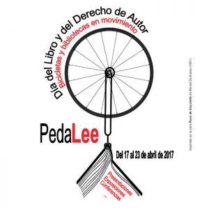 Logo PedaLEE - Día del Libro Ciclista 2017 - 30 Días en Bici Gijón