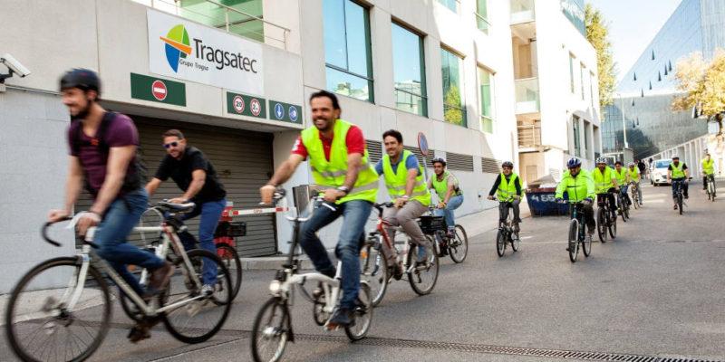 Foto de Trabajadores TRAGSA - 30 Días en Bici