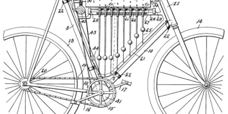Bicicleta musical de Samuel Goss (1899) - 30 dias en bici