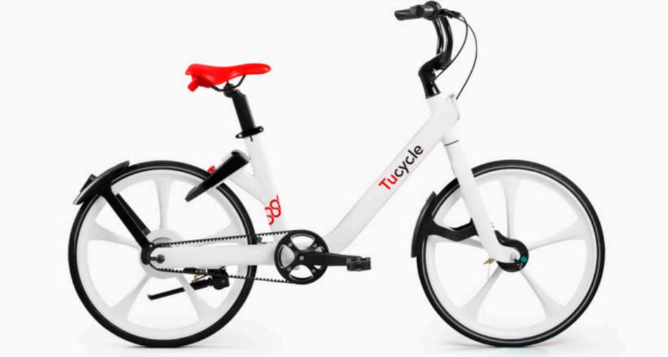 Bicicleta compartida Tucycle