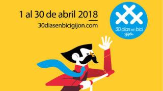 Programa 2018 Gijón 30 Días en Bici