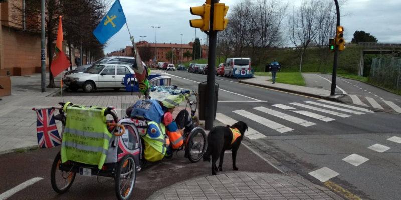 Martin Hutchinson con 30 Días en Bici