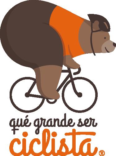 qué grande ser ciclista