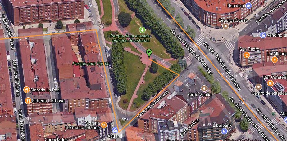 Salida del Biciconcierto Creando Comunidad Violeta Nureyev - 30 Días en Bici Gijón