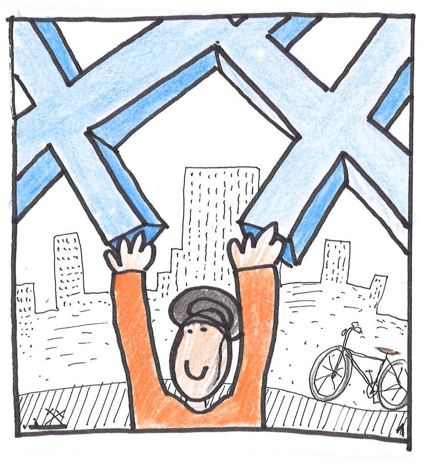 #01XII2018SmoghetonBattle - 30 días en bici se une a la Batalla contra Smogheton