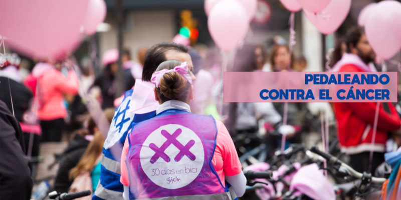 pedaleando contra el cancer 2018 - - 30 días en bici