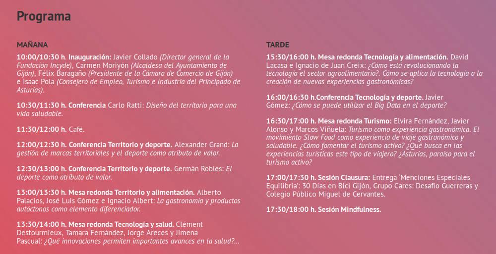 """""""INCYDE SCHOOL Asturias: Cumbre Equilibria"""" MENCIÓN ESPECIAL EQUILIBRIA buena práctica en el entorno de la vida saludable y activa en Gijón 2017 - 30 días en bici"""