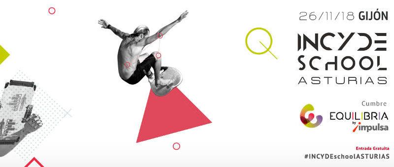 """MENCIÓN ESPECIAL EQUILIBRIA buena práctica en el entorno de la vida saludable y activa en Gijón 2017 DE """"INCYDE SCHOOL Asturias: Cumbre Equilibria"""" - 30 días en bici"""