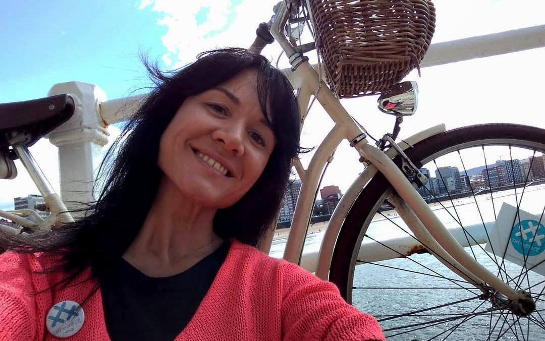 Noelia, embajadora en Roma 30 Giorni in Bici - 30 días en bici