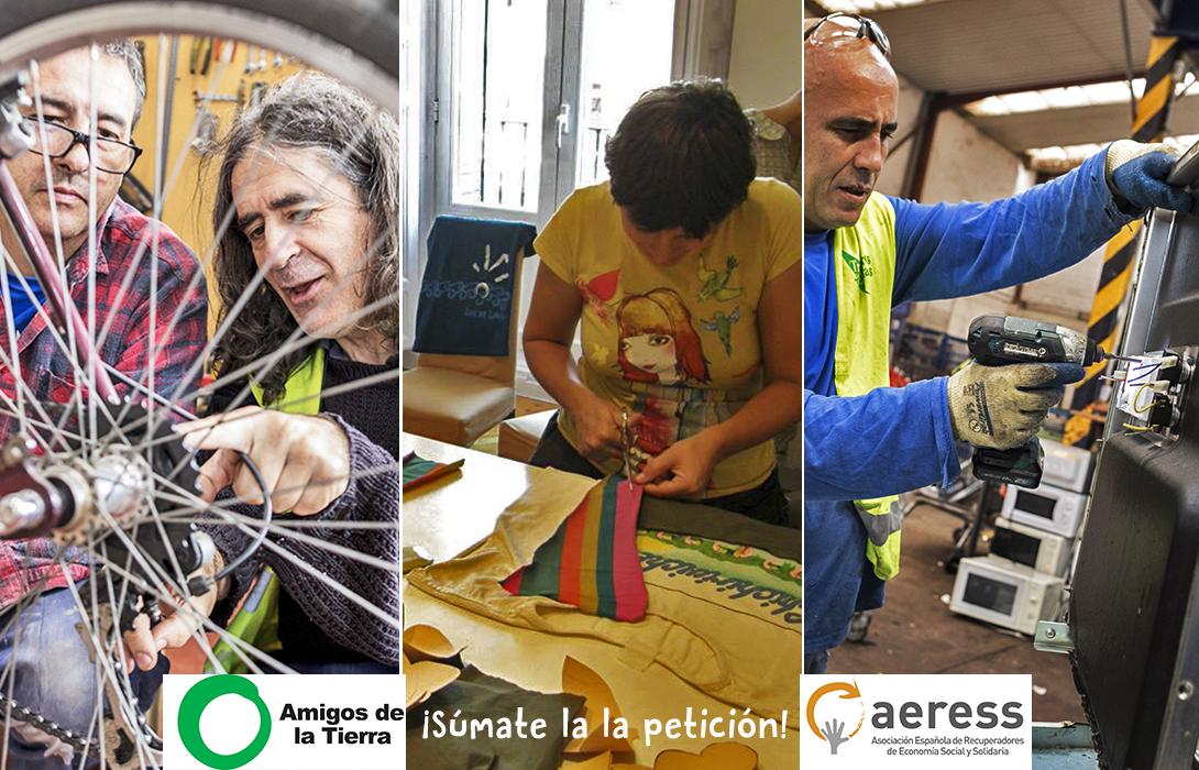 Campaña de reducción del IVA para tiendas y comercios de reparación y reutilización - 30 Días en Bici