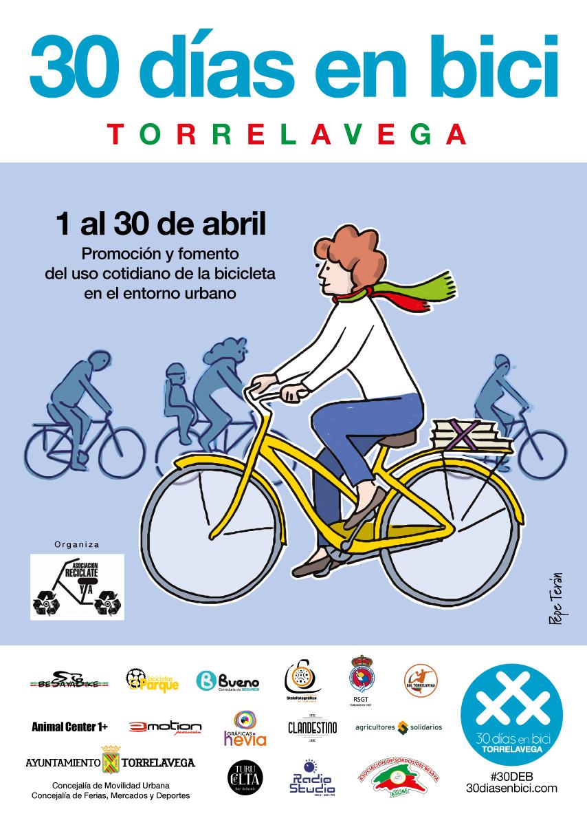 diseño, ilustración, mujer en bicicleta