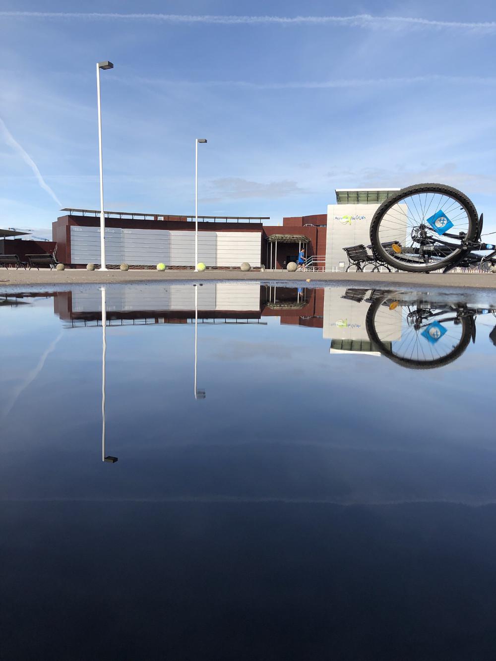 Acuario en un charco 30 dias en bici