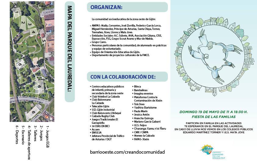 Organización Creando Comunidad 2019 - 30 Días en Bici Gijón