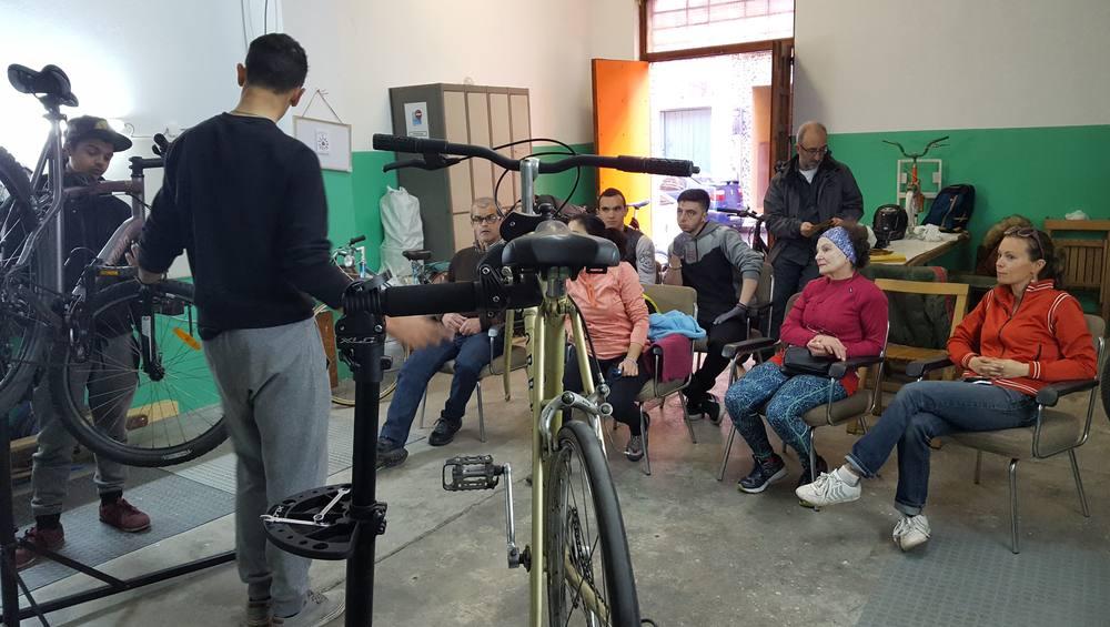 Foto del Taller BiciLab en 30DEB 2018 - 30 días en bici Gijón